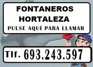 Fontaneros Hortaleza Madrid Urgentes